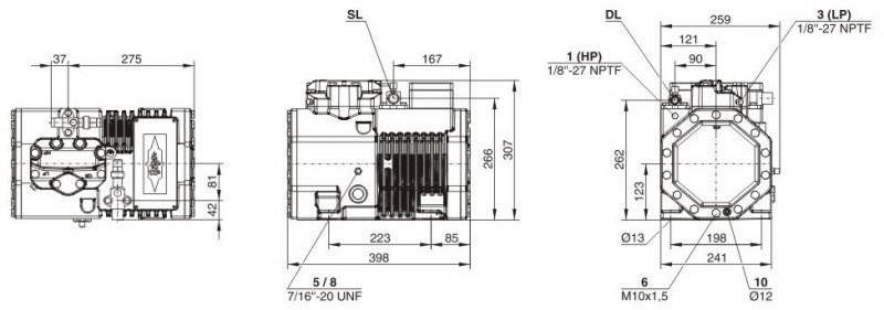 Кожухотрубный испаритель ONDA HPE 204 Чайковский Уплотнения теплообменника SWEP (Росвеп) GL-13P Железногорск