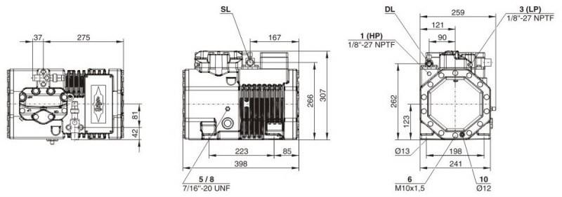 Кожухотрубный испаритель ONDA HPE 42 Чайковский Пластины теплообменника APV Q055 Таганрог