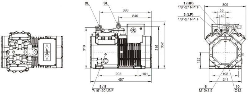 Кожухотрубный испаритель ONDA HPE 42 Троицк котел beretta теплообменник