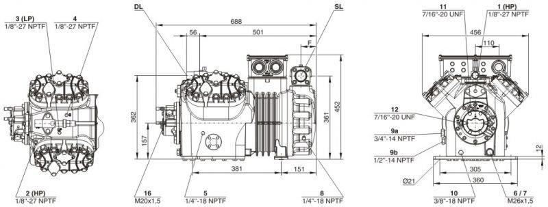 Пластинчатый разборный теплообменник SWEP GX-140S Биробиджан