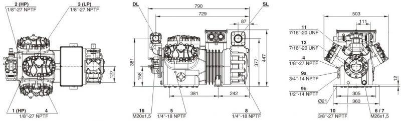 Кожухотрубный испаритель ONDA HPE 655 Кисловодск Уплотнения теплообменника Alfa Laval AQ14-FG Назрань